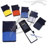 Notebook Calculator with Photo Frame and Pen