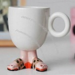 Novelty Ceramic Mug/Cup with Feet