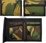 Nylon Commando Wallets - in your choice of Black or Olive Drab