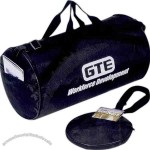 Nylon Fold-away Roll Bag With Pu Backing