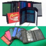 Nylon Velcro Wallets - Basic Colors