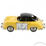 Old Yellow Car Clock