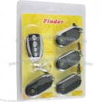 One Emitter With Four Receivers Wireless Remote Control Key Finder