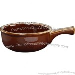 Onion Soup Crock-Bowl with Handle
