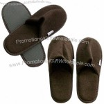 Open Toe Terry Disposable Airline Slippers