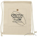 Organic Drawstring Backpack