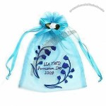 Organza Pouch with Embroidery