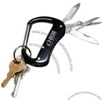 Outback Carabiner Essential Clip On Multi Tool W/ Key Ring