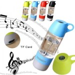 Outdoor Sports 400ml Water Bottle Bluetooth Speaker with Compass, TF Card