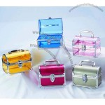 Oval Plastic Cosmetic Boxes