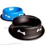 Paint Stainless Steel Pet Dog Bowl