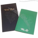 Pajco Folded with Embossing Menu Covers