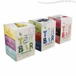 Paper Boxes with Emboss/Deboss, Partial UV Printing