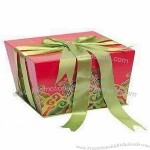 Paper Gift Box with Rigid Paper
