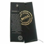 Paper Hangtag with Offset Printing