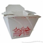 Paper Takeout Box For Lunch Box And Soup