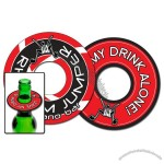 Paperboard Bottle Top Coaster - 3.75""