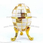 Party Decoration Gift Easter Egg Metal Jewelry Box