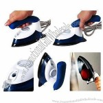 Patented Travel Steam Iron, Auto Pumping Steam Continuously