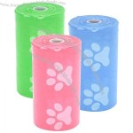 Paw Print Pet Waste Bag Dispenser Refill