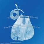 Pear Disposable Urine Bag, 2,000mL Luminous Flux, with Cross Outlet
