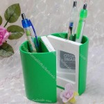 Pen Holder with Mirror and Photo Frame