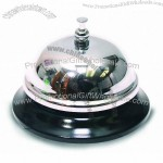 Pencil Grip The Classics All-Metal Call Bell, Chrome Finish