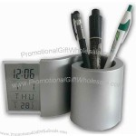 Pencil Holder Clock