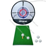Personal Golf Practice Net - Foldable Golf Training Net Indoor Outdoor