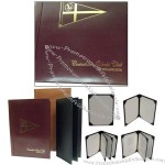 Personalizd Genuine Leather Menu Covers