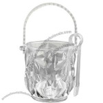 Personalized Acrylic Ice Bucket with Tongs