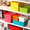 Personalized Candy Colored Storage Box
