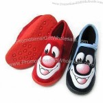 Personalized Children's Shoes with Coloured TPR Injection Outsole