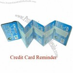 Personalized Credit Card Reminder