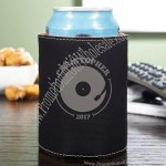 Personalized Faux Leather Drink Koozie