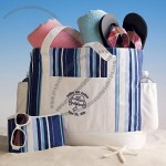 Personalized Honeymoon Beach Bag for Two Style