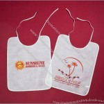 Personalized Plastic Disposable Adult Bib