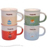 Personalized Temperature Enamel Mug