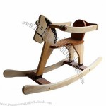 Personalized Wooden Rocking Horse Toy