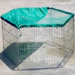 Pet Play Pen with Cover and Door