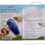 Pet Training Clicker Whistle