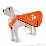 Pets' Raincoat with Reflective Strips at the Collar