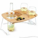 Picnic Time Wine Table for Two
