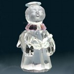 Picturesque Optical Glass Crystal Angel