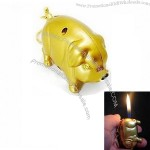 Pig Refillable Butane Cigarette Lighter