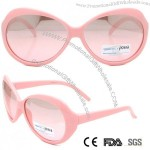 Pink Cute Girl Children Kid Plastic Sunglasses