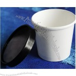 Plain Hot Soup Paper Cup with lid