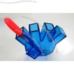 Plam Shape Acrylic Pencil Holder
