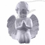 Plaster Praying Angel - Cherub Statue
