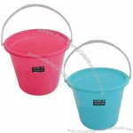 Plastic 12L Water Bucket with Handle